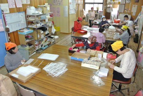 上京ワークハウス作業風景